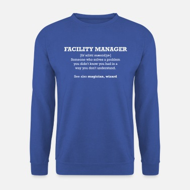 facility manager - wizard - Men's Sweatshirt