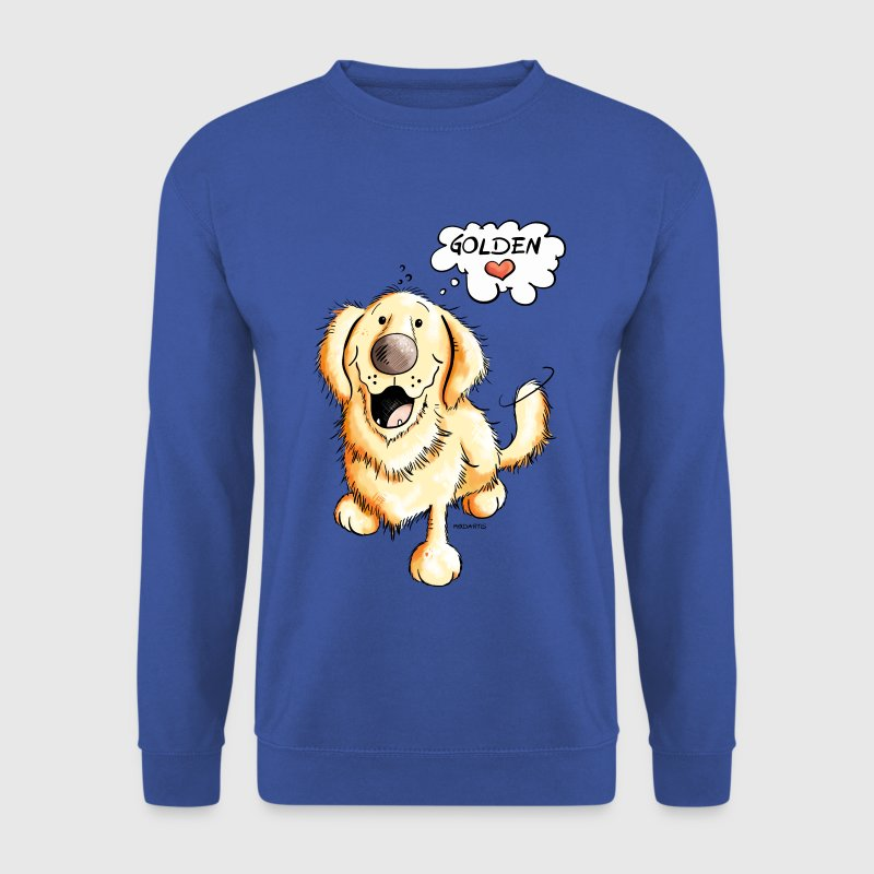 Golden Retriever - Sweat-shirt Homme