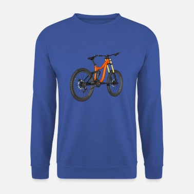 Downhill Bike, Mountain Bike, Bicicletta - Felpa uomo