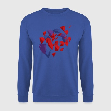 Red Purple and blue - Men's Sweatshirt