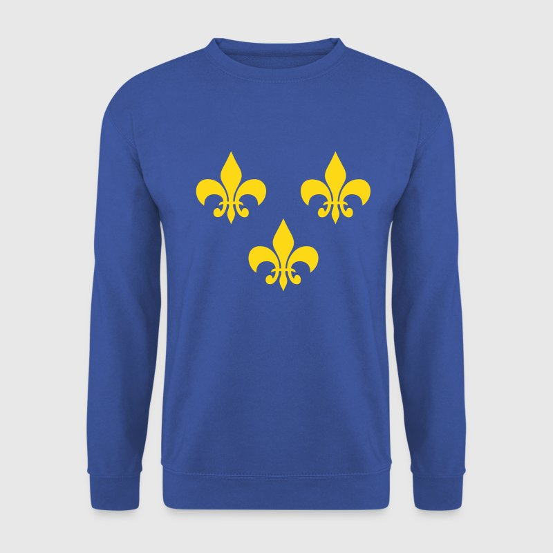 france royaliste 02 - Sweat-shirt Homme