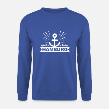 Alster ANKER LOGO Hambourg Alster Elbe Harbour - Sweat-shirt Homme