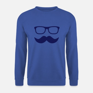 Moustache moustache - Sweat-shirt Homme