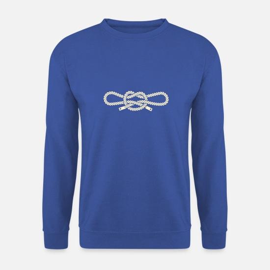 7c0efab0aacf1 Noeud Sweat-shirts - Narcos - Noeud des menottes - Sweat-shirt Homme bleu