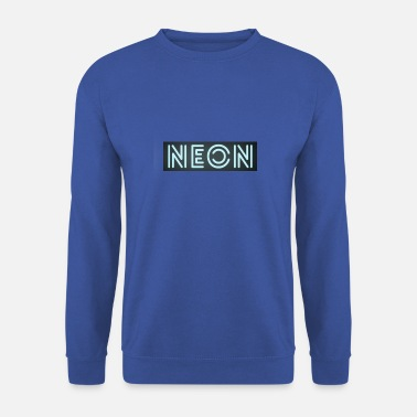 Néon Néon bleu - Sweat-shirt Homme
