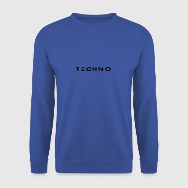 Techno - Sweat-shirt Homme