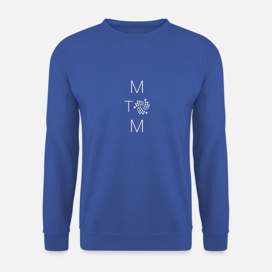 Machine Sweat-shirts - IOTA Machine à Machine - Sweat-shirt Homme bleu royal