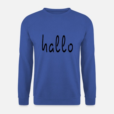 Bonjour Bonjour lettrage Bonjour, Bonjour - Sweat-shirt Homme
