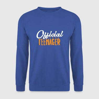 Official Teen - Teens Teen Teen Gift - Men's Sweatshirt