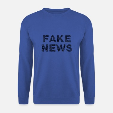 Fake FAKE NEWS - Sweat-shirt Homme