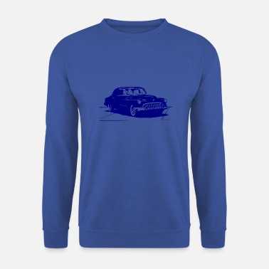Revolver Une voiture de gangster antique - Sweat-shirt Homme
