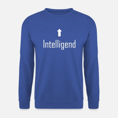 Intelligent intelligent, intelligent - Sweat-shirt Homme