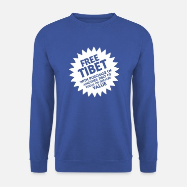 Tibet Tibet libre! - Sweat-shirt Homme