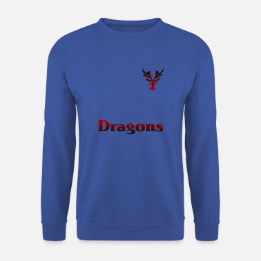 Dragon Rouge Dragons dragon rouge - Sweat-shirt Homme
