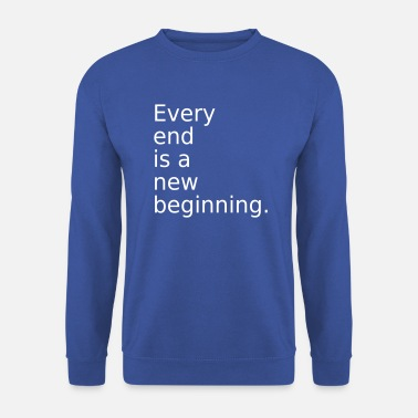 End The End - Men's Sweatshirt