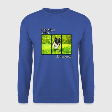 Dog Border Collie (Dog) - Kult Sitat - Genser for menn