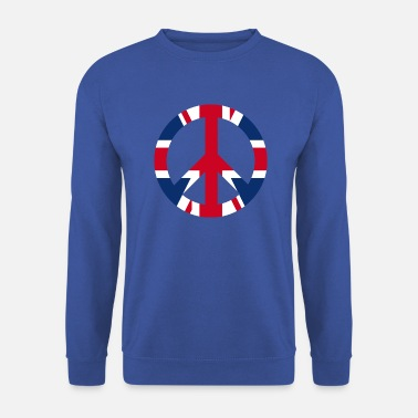 Uk Fredskiltikon UK UK - Herre sweater