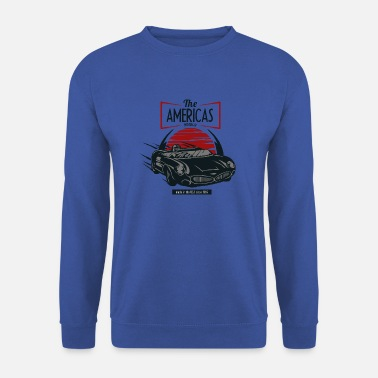 Sport Automobile Le muscle car américain USA 1969 sport de course automobile - Sweat-shirt Homme