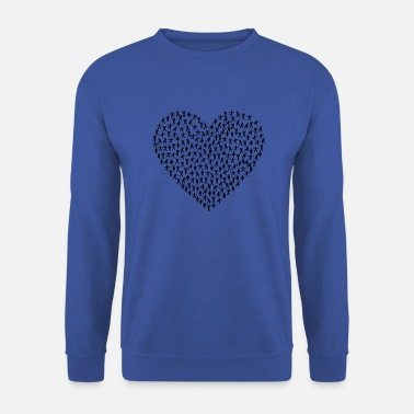 Fitness coeur de fitness - Sweat-shirt Homme