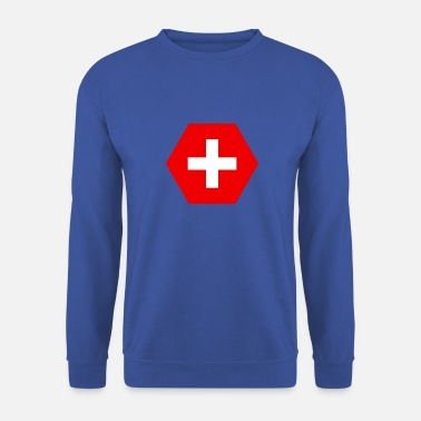 Drapeau suisse - Sweat-shirt Homme