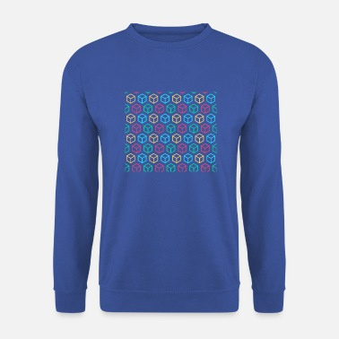 Illusion optical illusion - Men's Sweatshirt