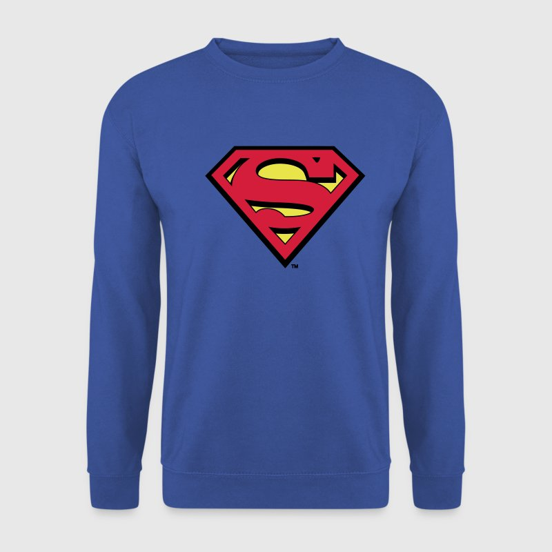 Superman Logo Men Hoodie - Genser for menn