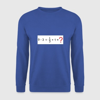 Mathematics mathematics - Men's Sweatshirt