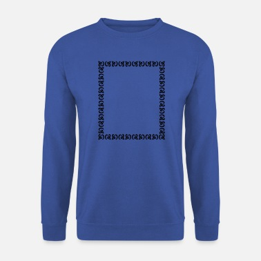 Frame Frame frame ornaments vector 01 - Men's Sweatshirt