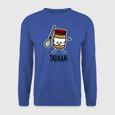 Tadaaa! Happy peanut butter with spoon - Sweat-shirt Homme