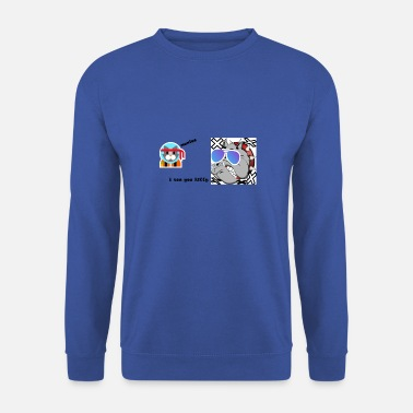 Bataille bataille des animaux - Sweat-shirt Homme