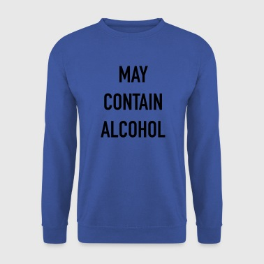 Container may contain alcohol - Männer Pullover