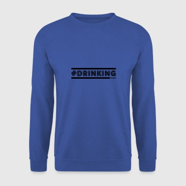Team-letters drinken - Mannen sweater