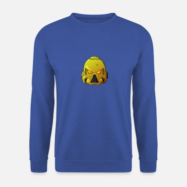 Imperial Fists Space Marine Helmet - Men's Sweatshirt