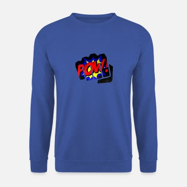 Coup De Poing Comic Pow coup de poing poing poing - Sweat-shirt Homme