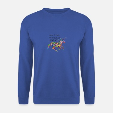 Expressions Cheval Cheval fille chevaux chevaux chevaux - Sweat-shirt Homme