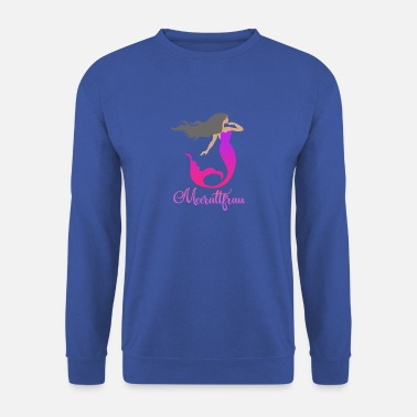 Animal Mythique Meeraltfrau Mermaid. Drôle animal mythique - Sweat-shirt Homme
