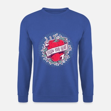 Follow Your Heart - Männer Pullover