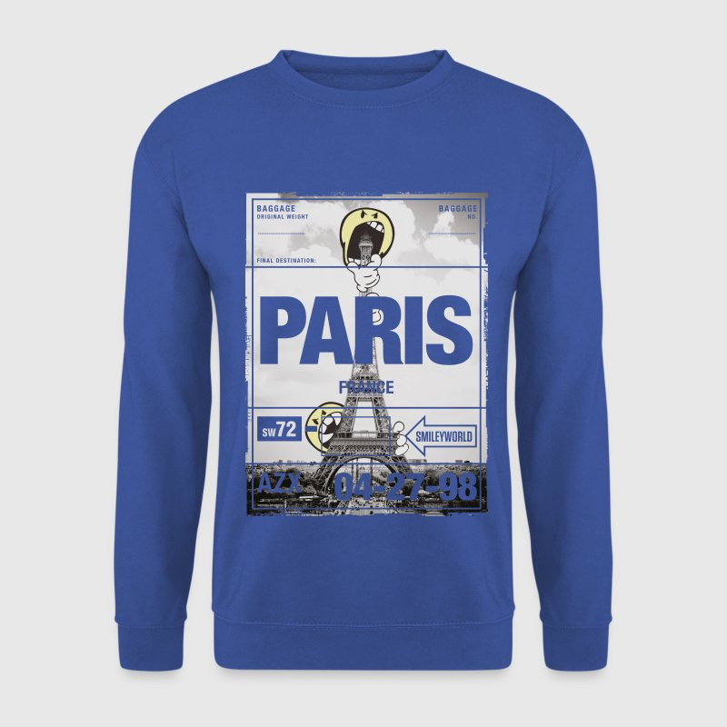 Smileyworld 'Paris La tour Eiffel' - Sweat-shirt Homme