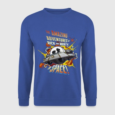 Rick and Morty Amazing Adventures in Space - Men's Sweatshirt