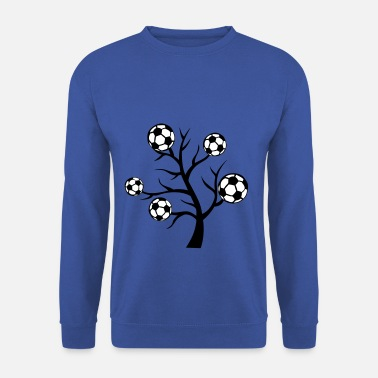 Ballon De Foot foot arbre branche ballon - Sweat-shirt Homme