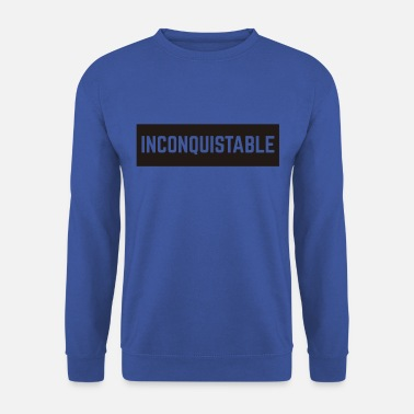 Remarques Marrantes invincible - Sweat-shirt Unisex