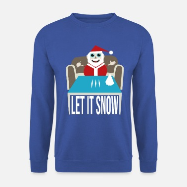 Snow Let It Snow - Men's Sweatshirt