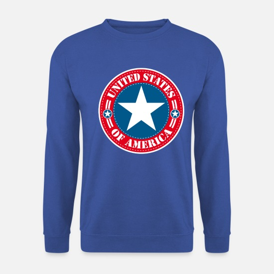 Country Sweat-shirts - United States - Sweat-shirt Homme bleu royal