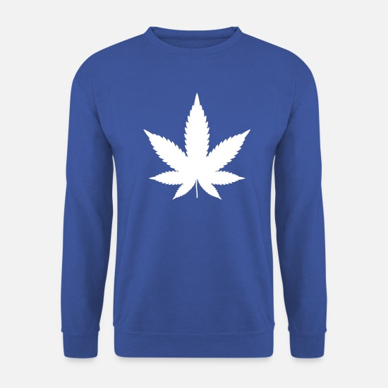 Hemp Hoodies & Sweatshirts - hemp - Men's Sweatshirt royal blue