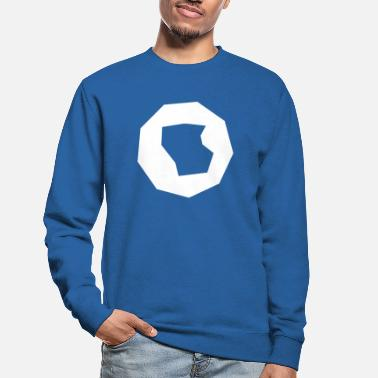 Polygon Polygon polygon abstract - Unisex Sweatshirt