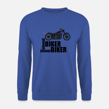 Girl Biker - Men's Sweatshirt