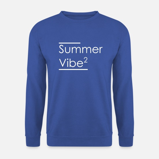 Swim Hoodies & Sweatshirts - Summer Vibe - Unisex Sweatshirt royal blue