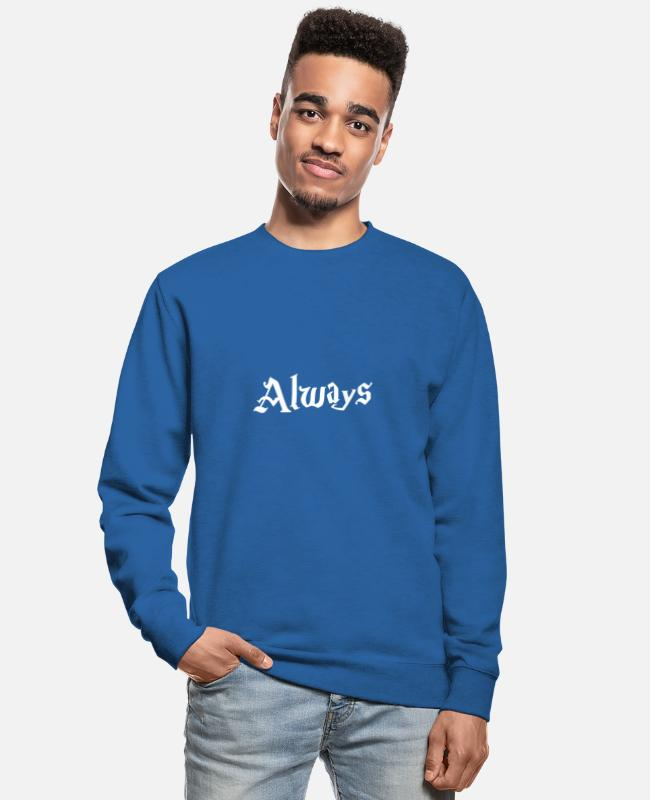 Fairy Tail Hoodies & Sweatshirts - Always Harry Potterr - Unisex Sweatshirt royal blue