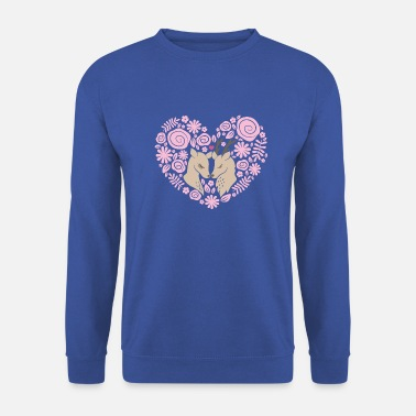 Love Collection V2 Deer love - Sweat-shirt Unisex