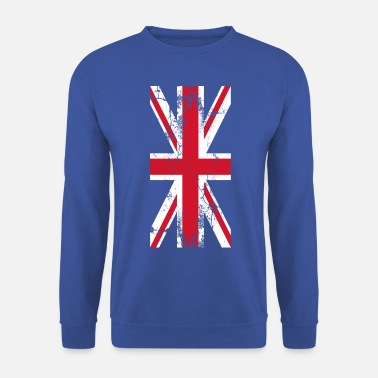 Royaume-Uni Royaume-Uni Drapeau Drapeau Union Jack - Sweat-shirt Homme